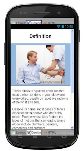 玩免費醫療APP|下載Tennis Elbow Information app不用錢|硬是要APP