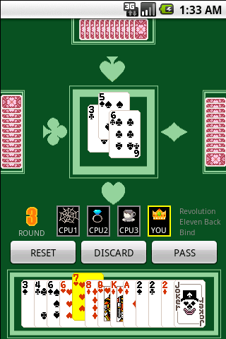 The Card Game Millionaire - screenshot