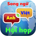 Tiếng Anh hội họp song ngữ icon
