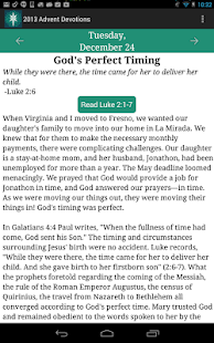 2013 Advent Devotions - screenshot thumbnail