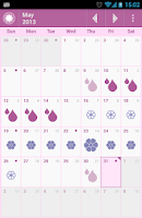 Screenshot of OvuView: Ovulation & Fertility