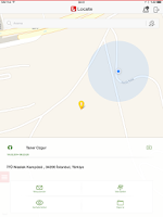 Screenshot of Vodafone Locate Tablet