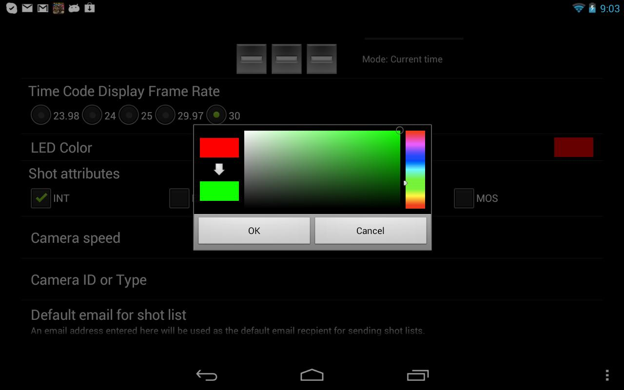 SL DigiSlate- لقطة شاشة