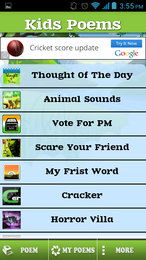 Kids Nursery,Poems,Rhymes Free- screenshot
