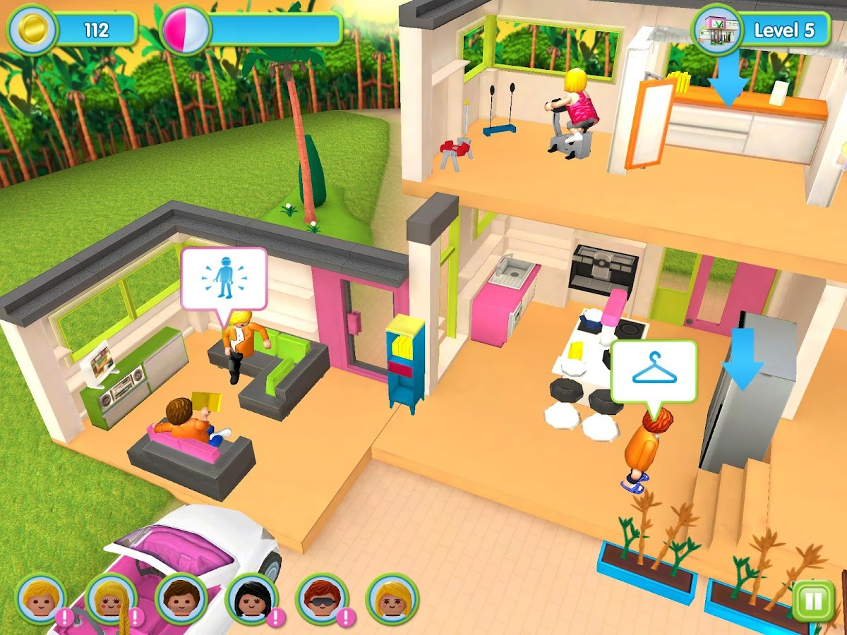 playmobil luxury mansion android apps on google play. Black Bedroom Furniture Sets. Home Design Ideas