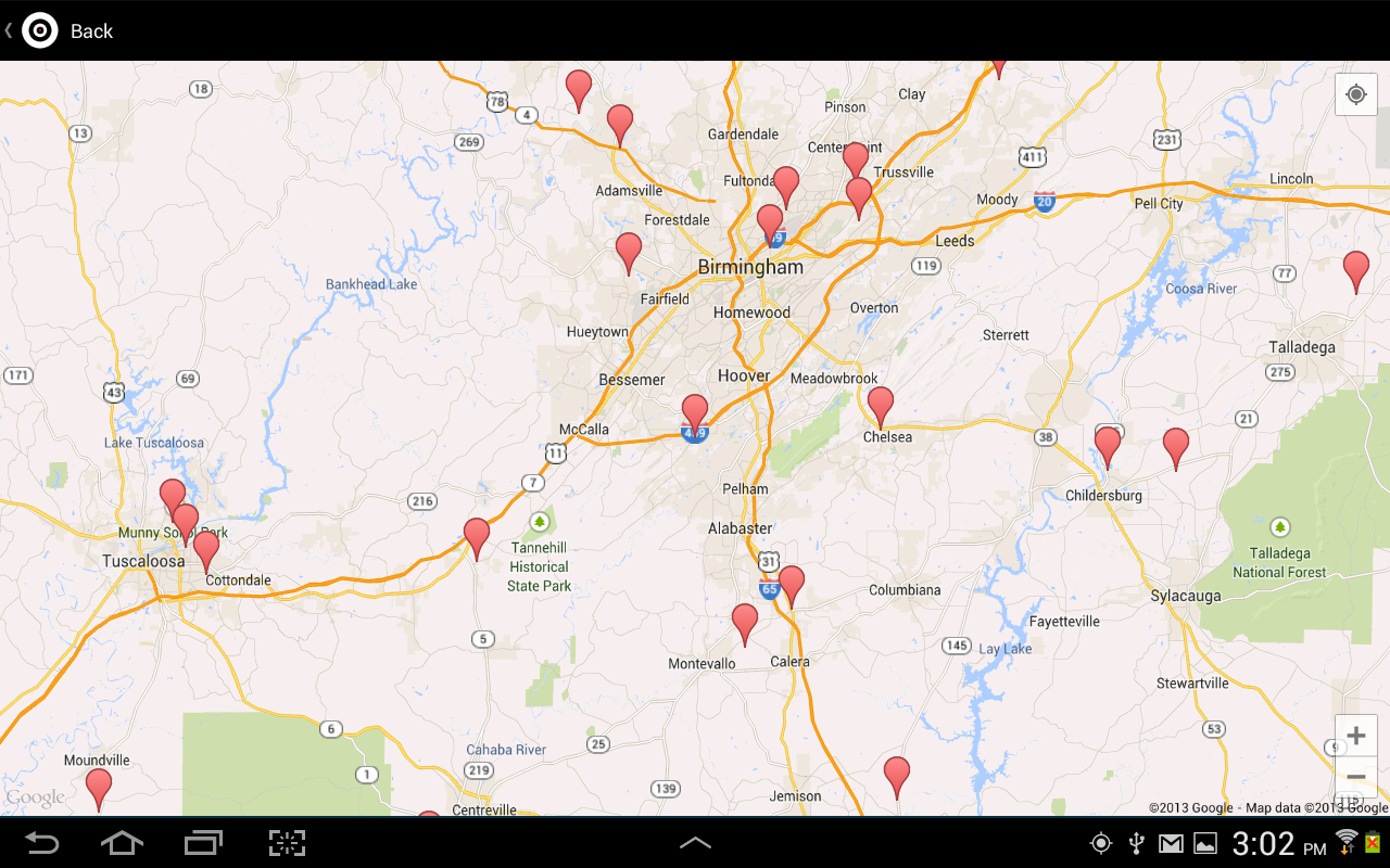 Where To Shoot for Android - screenshot