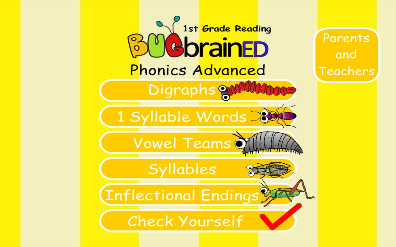Phonics Advanced - screenshot