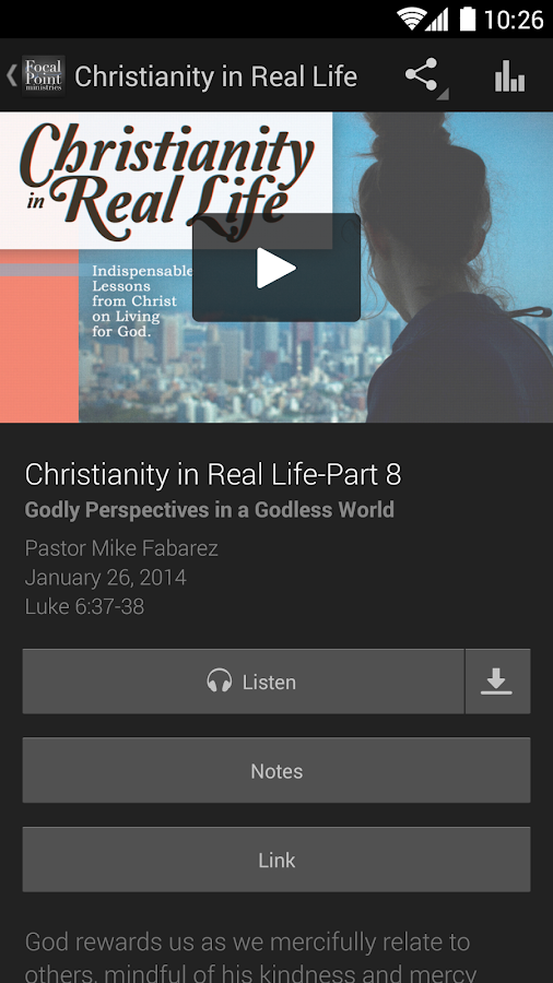 Focal Point Radio Ministries - screenshot