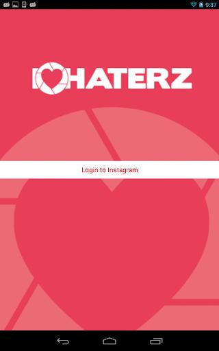 (APK) تحميل لالروبوت / PC IHeartHaterz for Instagram تطبيقات screenshot