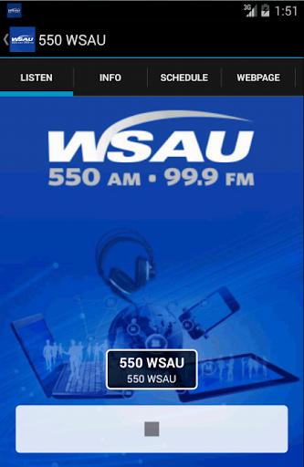 WSAU - 550 AM 99.9 FM