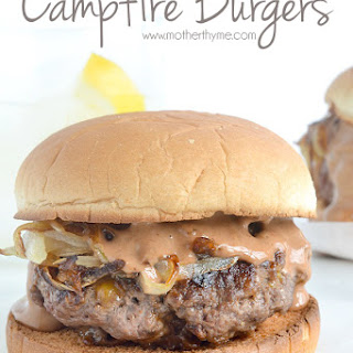 Campfire Burgers.