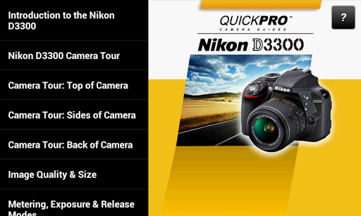 Guide to Nikon D3300