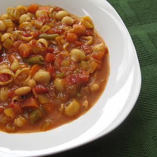 Mama Mia's Minestrone Soup.
