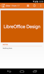 LibreOffice Impress Remote - screenshot thumbnail