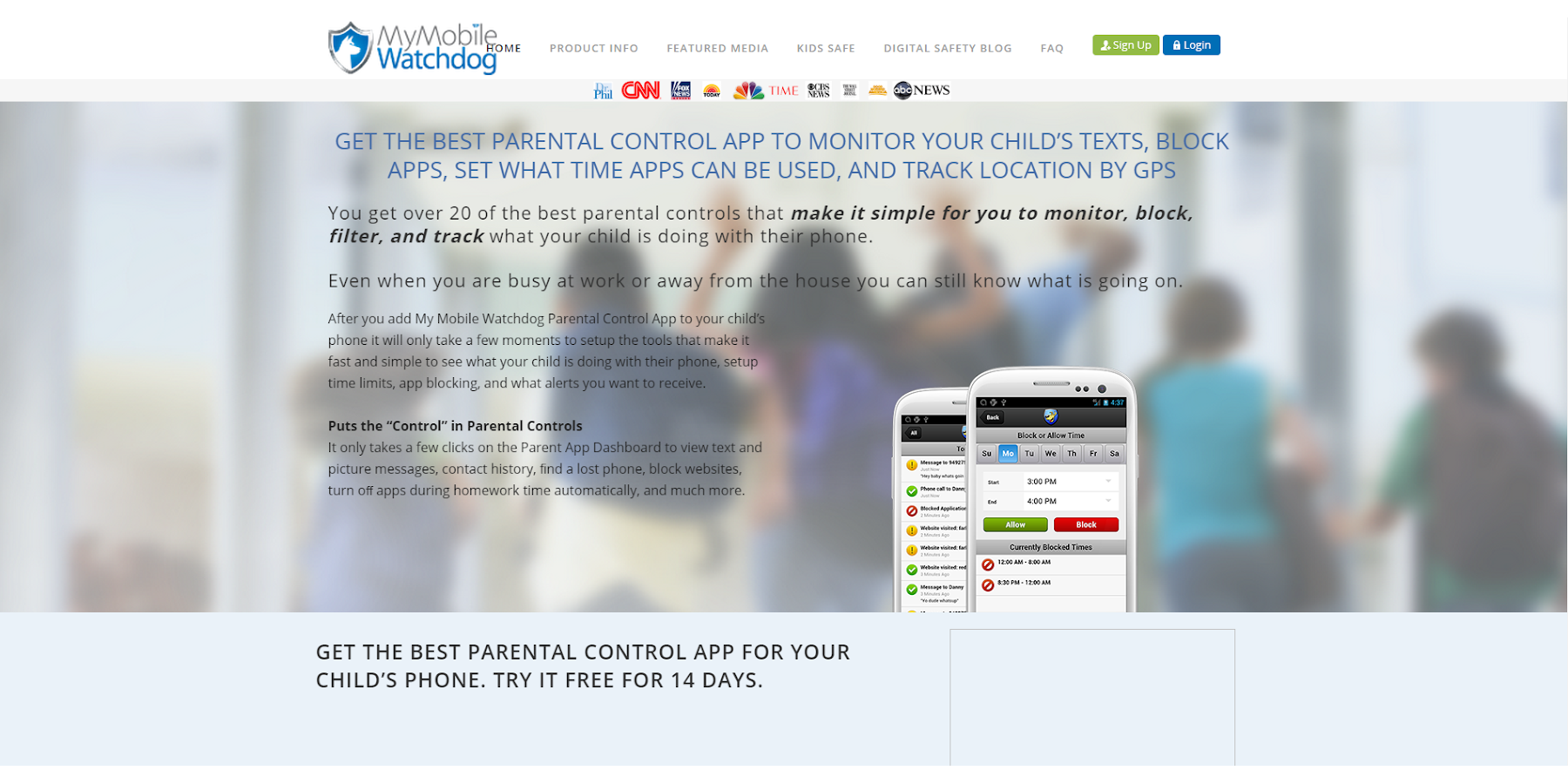 My Mobile Watchdog  Free Trial - screenshot