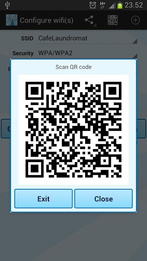 Instant NFC WiFi + Notify- screenshot