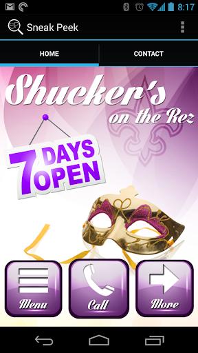 Shucker's on the Rez