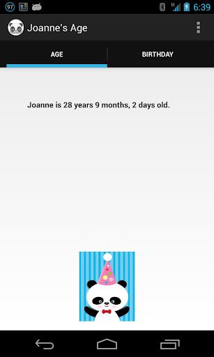 Joanne's Age