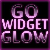 GOWidget Theme- Pink Glow Ex