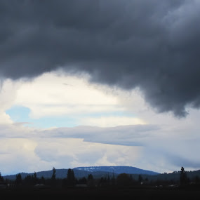 A Bit of Blue by Krys George - Landscapes Weather ( stormy, clouds, weather, cloudy, storm )