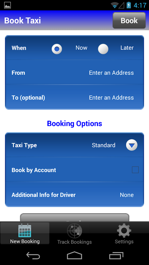 Taxi Now by Capital City Cab- screenshot