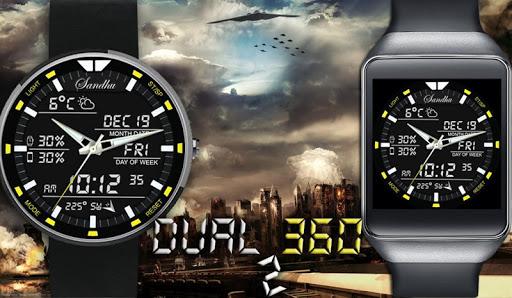 Dual 360 2 HD Watch Face