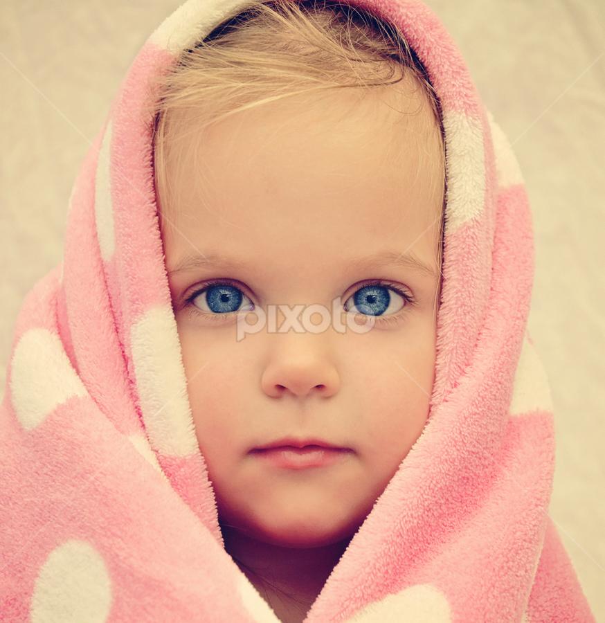 My Blankie by Lucia STA - Babies & Children Child Portraits