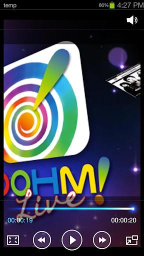【免費媒體與影片App】OOHM!Live-APP點子