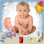 Baby Frame Collages
