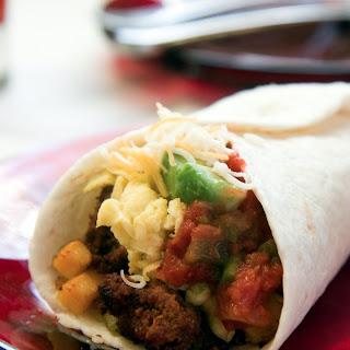 Slow Cooker Breakfast Burrito