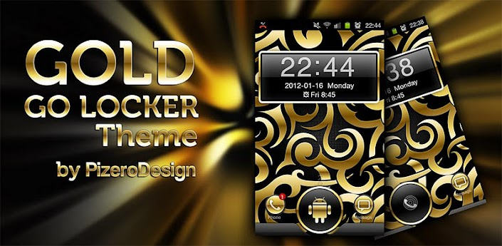 Gold Droid GO Locker