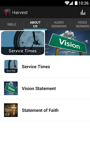 Church of the Harvest App