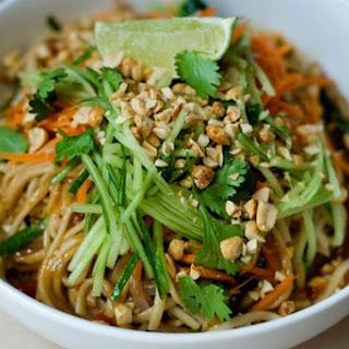 Thai Peanut Noodle Bowl.