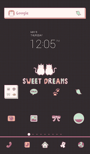 mnm sweet dreams dodol theme