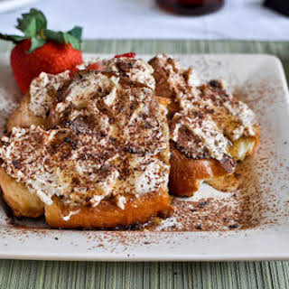 Tiramisu French Toast.