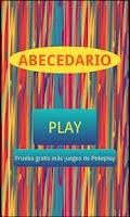 Screenshot of Abecedario para niños  Español