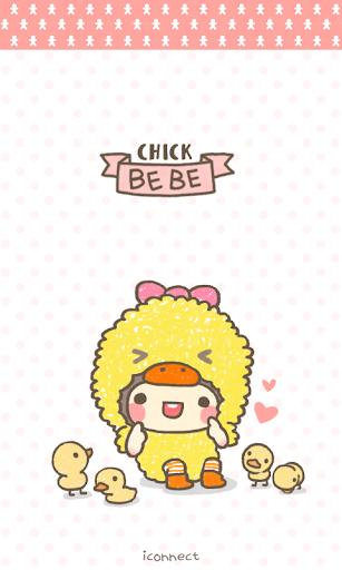 bebe_chick go sms theme