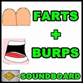 Farts and burps sound board