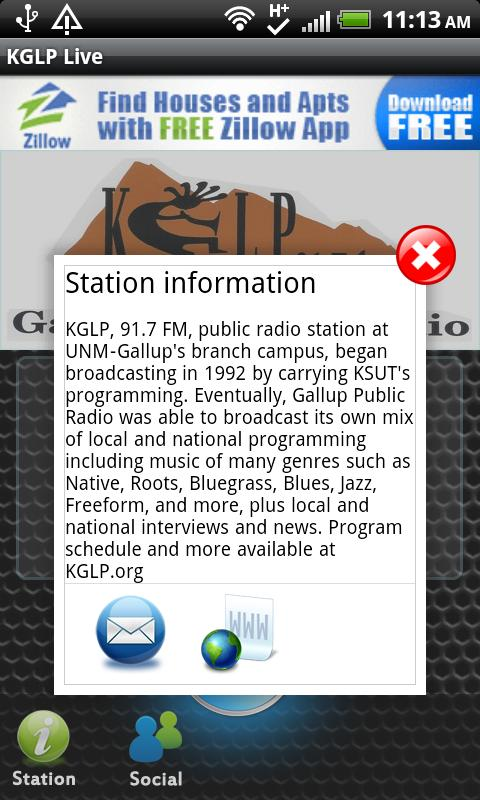 KGLP Live - screenshot