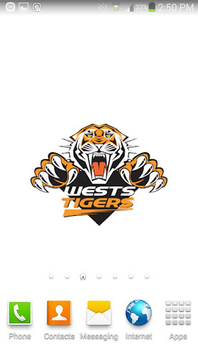 West Tigers Spinning Logo