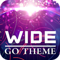 WIDE Theme GO Launcher EX logo