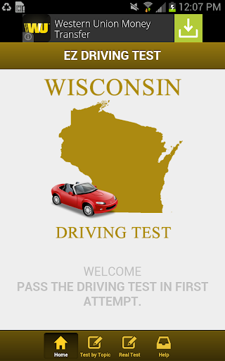 Wisconsin Driving Test