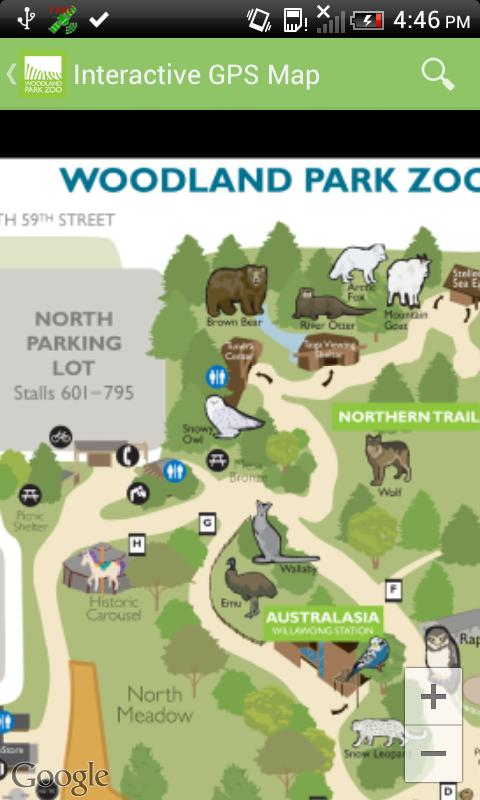Woodland Park Zoo - screenshot