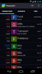 Finance41 - Expense Manager- screenshot thumbnail