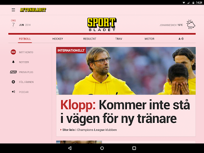 Aftonbladet - screenshot thumbnail