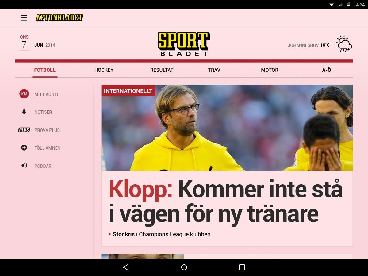Aftonbladet - screenshot