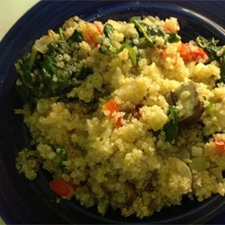 Quinoa Vegetable Medley.