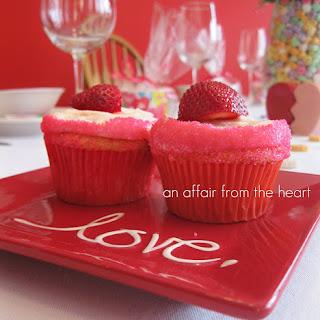 Strawberry Daiquiri Cupcakes.