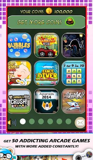 50 Snack Games Arcade
