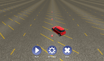 Screenshot of Slalom Racing Simulator